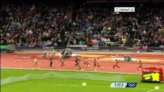 الجزائري توفيق مخلوفي يحرز ذهبية 1500 متر في أولمبياد لندن 2012