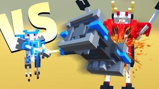 GIANT HAMMER vs GIANT ROBOT! (Clone Drone In The Danger Zone Gamepl...