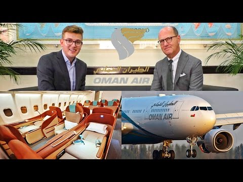 INTRODUCTION TO OMAN AIR | Executive Interview with Paul Gre