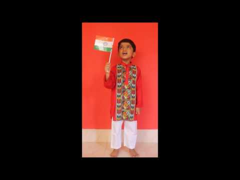 Little Apratim Singing a Bengali ...