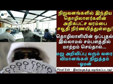 நிறுவனங்களில் இந்தியர்களின் அதிகபட்ச நபர்கள்|தொழிலாளர்களின் ஊதியம்|Saudi Tamil News|Arab News Tamil