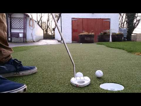 Home Putting Green Installed by Putt It Right Ltd