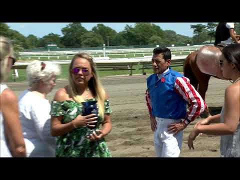 video thumbnail for MONMOUTH PARK 8-10-19 RACE 4