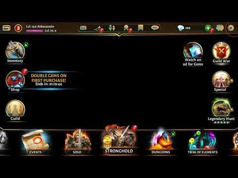 A LEGENDARY GIFT !?? Dungeon Hunter 5  update 