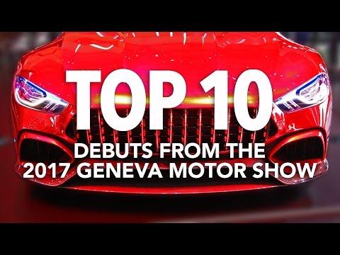 Top 10 Best Cars of the 2017 Geneva Motor Show