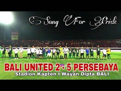Nsb12 Pun Diam..!! Menghormati Bonek Saat Anthem Song for Pride Dinyanyikan, Bali Utd Vs Psby 2-5
