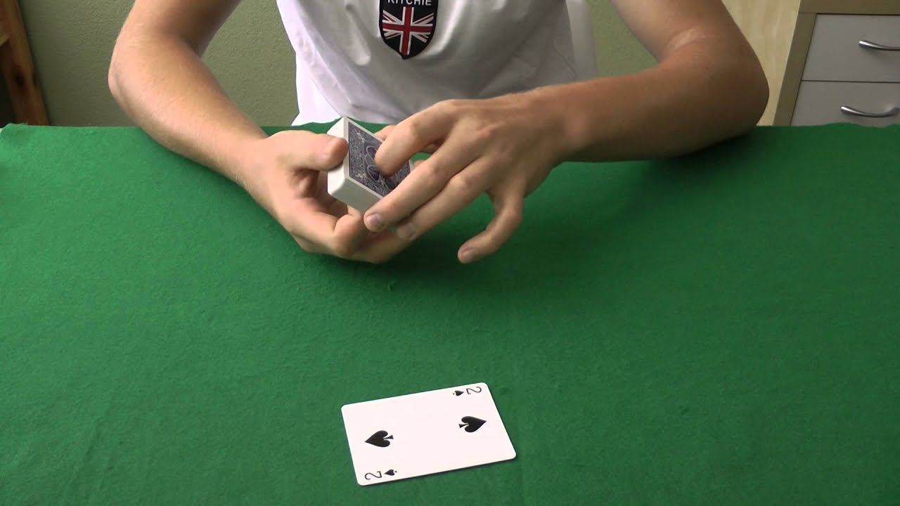 super easy card trick for beginners  tutorial  youtube