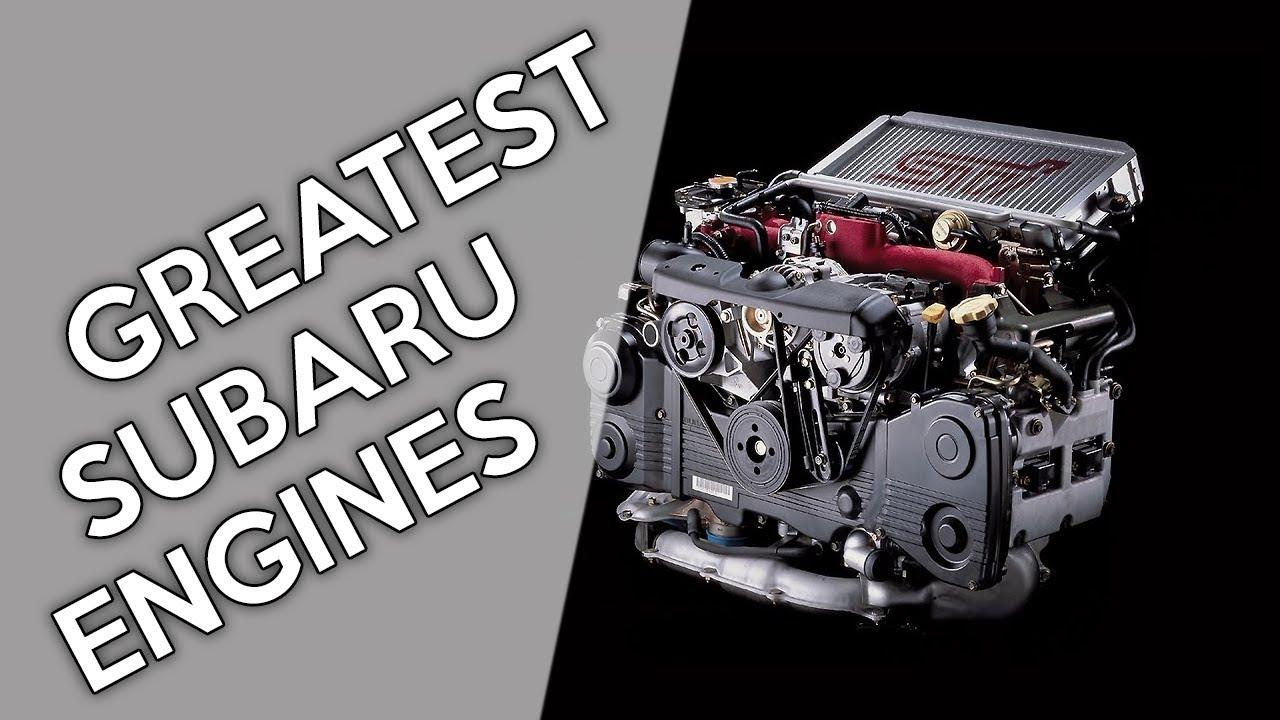 6 Of The Greatest Subaru Engines Ever