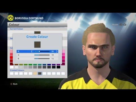 PES 2016 Face Build By Valencia 25: Marcel Schmelzer (Borussia Dortmund)