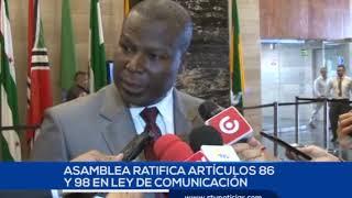 ASAMBLEA DEBATE LEY DE COMUNICACIÓN