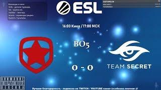 [RU] Gambit Esports vs. Team Secret - ESL One Katowice 2019 2019 BO5 @4liver_r