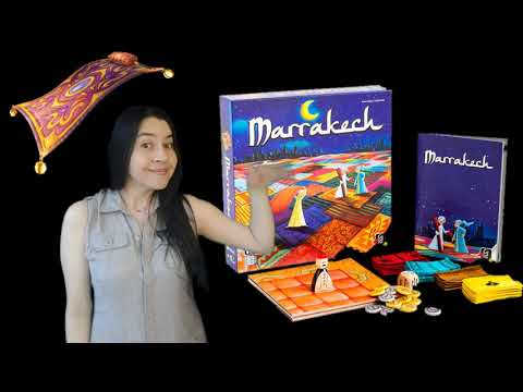 MARRAKECH Game Review--Boardgame Fiesta