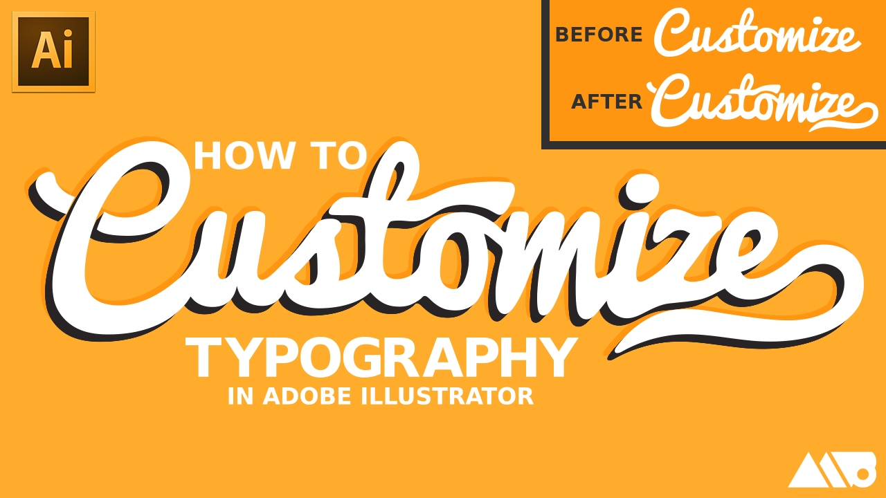How to Customize Fonts in Adobe Illustrator Tutorial