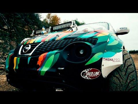 Nissan Juke-R In Russian Village