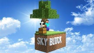 Будем строить в МАЙНКРАФТ СКАЙБЛОК на сервере КРИСТАЛИКС #3 ● Братыня и Minecraft Skyblock