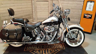 SOLD! 2003 Harley-Davidson Softail Heritage Springer FLSTS 100th Anniversary.