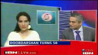 SHOW WILL GO ON :: 1/2 :: DD's Enigmatic Newsreader 'Salma Sultan' To CNN-IBN