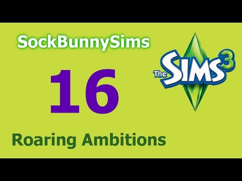 Sims 3 - Roaring Ambitions - Ep 16 - Weddings