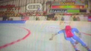 Speed Skating 500M Nagano winter olympics 98 (N64)