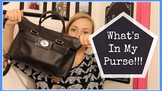 What's in My Purse [2014] Thumbnail