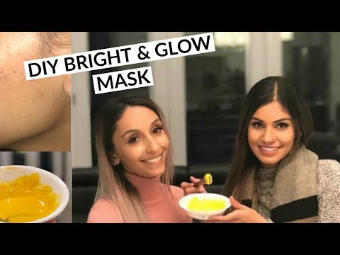 Best Face Mask: Turmeric & Rice Flour   Get Glowing Acne- Free Skin NOW!!