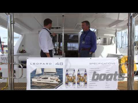 Leopard 48 Sailing Catamaran: First Look