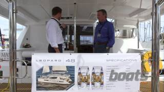 Leopard 48 Sailing Catamaran: First Look