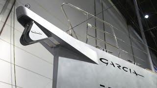 Обзор яхты Garcia 52, палуба и кокпит. Часть 1