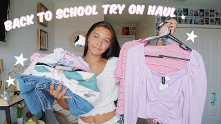 Back to school clothing *try on haul* 2020
