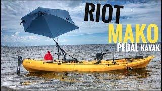 Riot Mako 12:  Most Affordable Pedal Kayak