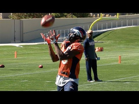 """Denver Broncos receivers """"two of the best,"""" though numbers don"""
