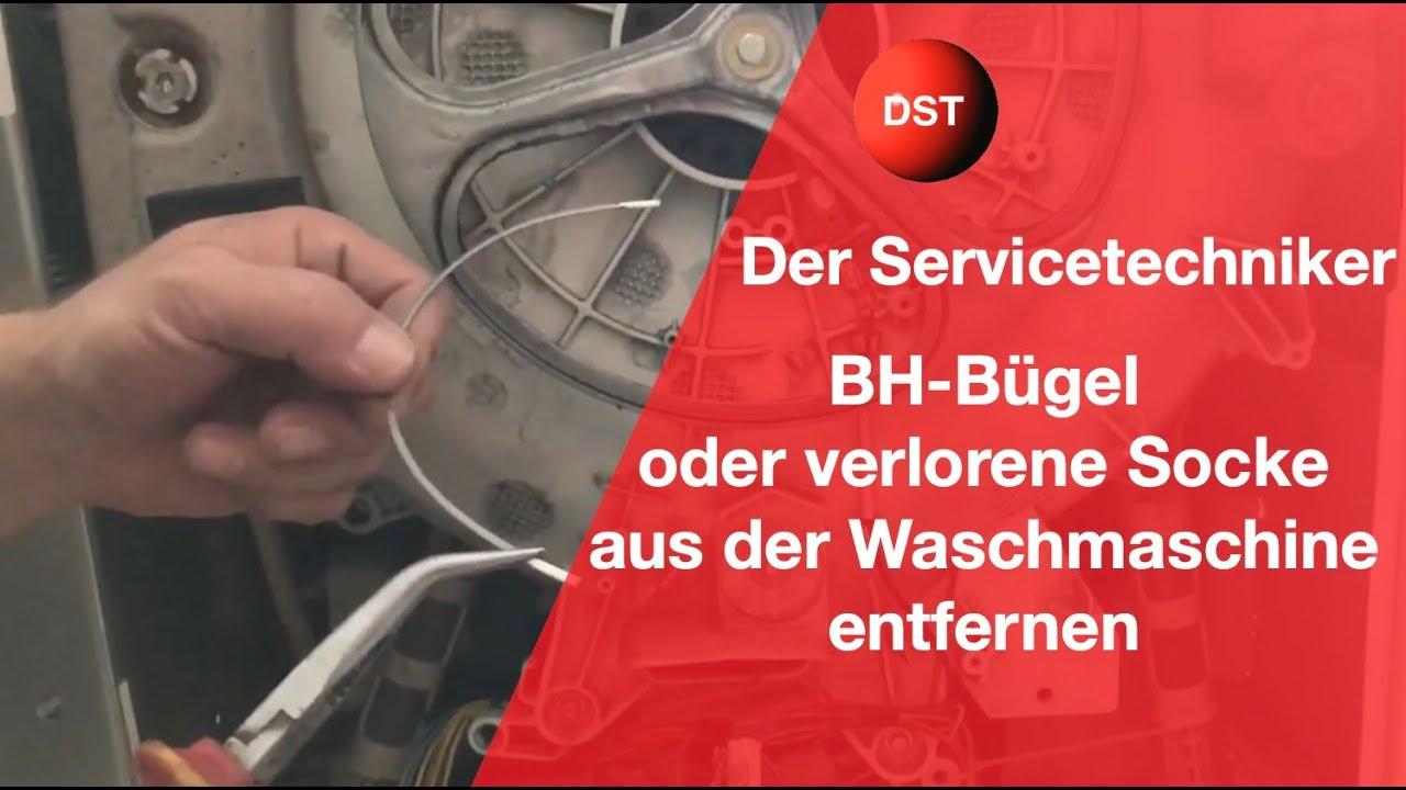 waschmaschine macht ger usche vielleicht nur ein bh b gel youtube. Black Bedroom Furniture Sets. Home Design Ideas