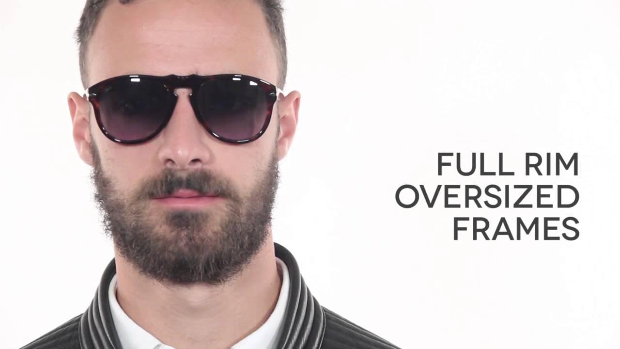 Persol oversized sunglasses Best Place 6Q3S6c1