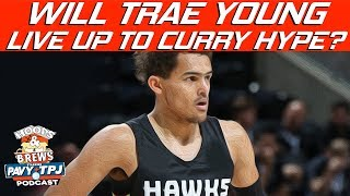 Will Trae Young Live Up To Steph Curry Comparisons?  | Hoops N Brews