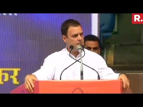 Rahul Gandhi's Open Challenge To PM Modi For 15 Minutes Debate | Full Speech