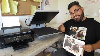 Best inkjet heat transfer paper on the market using my epson xp 330 printer
