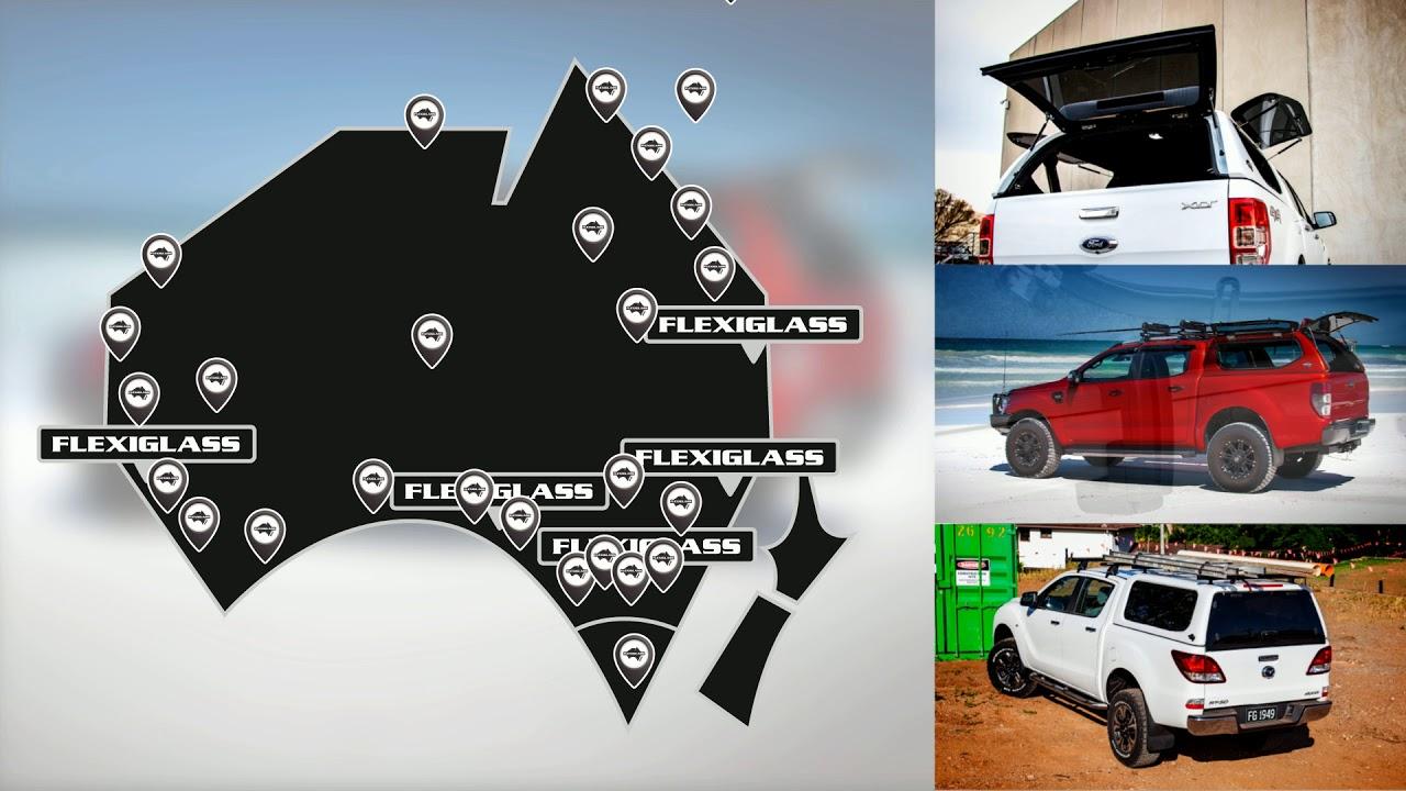 Flexiglass   Ute Canopies and Trays   Australia