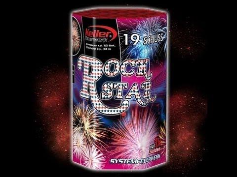 NEUHEIT 2012 Rock Star von Keller Feuerwerk (Röder Vorschießen) [1080p Full HD]