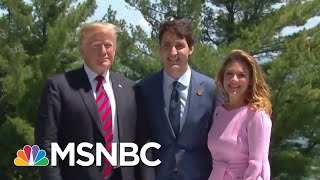 panel president donald trump is doing what russia wants america to be doing mtp daily msnbc
