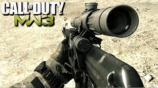 Call of Duty Modern Warfare 3 Sniper Stealth Mission Gameplay Veteran