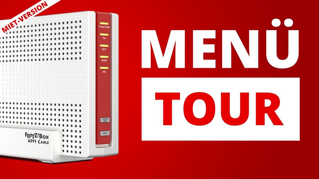 FritzBox 20 Cable   Menü Tour & wichtige Einstellungen der Vodafone  HomeBox   FritzOS 20.20