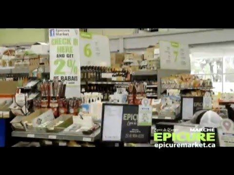 Epicure Market - the largest European based food store in Quebec