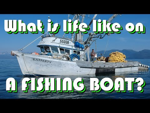 TOUR A SALMON FISHING BOAT With Philly Dom
