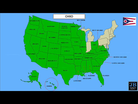50 States Song for Kids/50 States and Capitals for Children/USA 50 States #2
