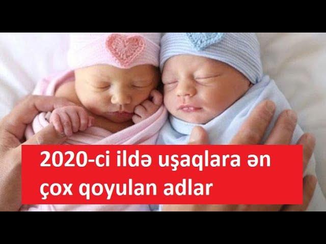 Azərbaycanda 2020 Ci Ildə Usaqlara ən Cox Qoyulan Adlarin Siyahisi Youtube