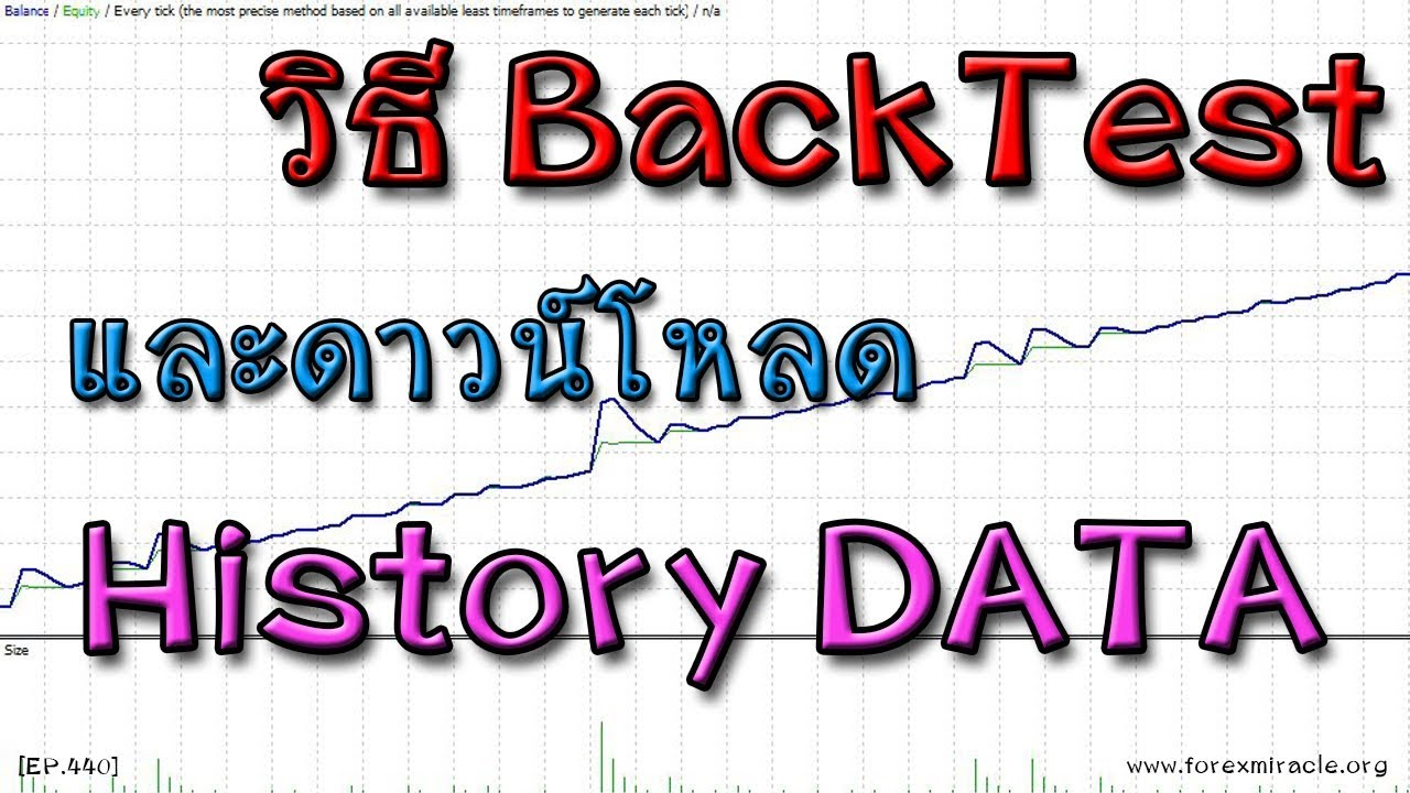 How To Backtest And Forex History Data You Computer