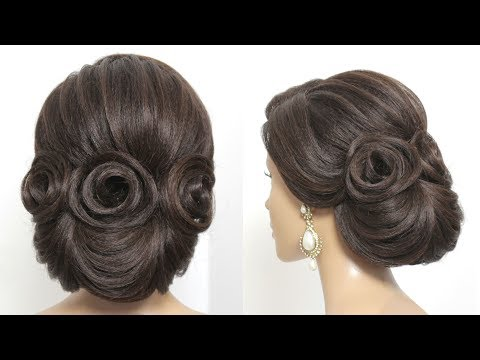 new-bridal-updo.-trendy-wedding-hairstyle-for-long-hair-tutorial