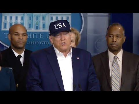 WATCH LIVE: Trump gives coronavirus update