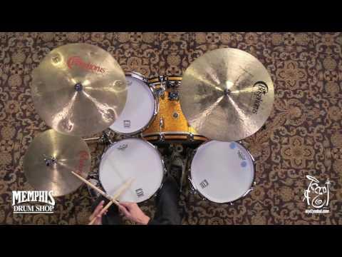 """Used Bosphorus 18"""" Trash Crash Cymbal - 1600g (UBS18TC-1121516D)"""
