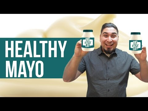 Whole30 Mayo - Healthy Mayonnaise Recipe - Mayo with Olive Oil